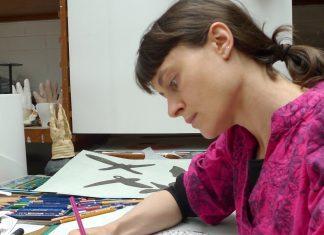 Artist Katie Cuddon