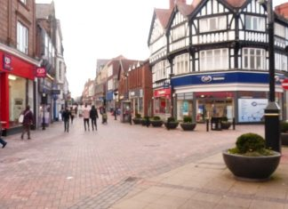 Shopping in Wrexham