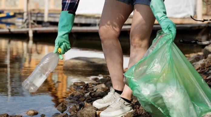 Plastic Litter Waste