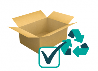 Cardboard paper recycling box boxes