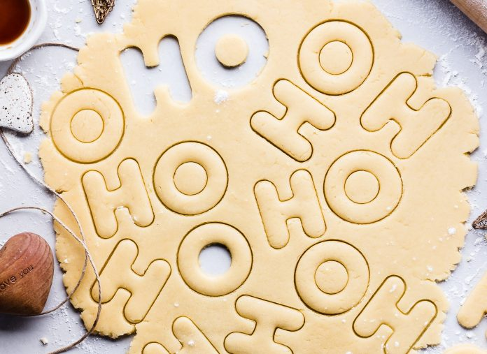 Biscuits Recycling Plastic Christmas