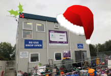 Reuse shop Christmas Recycling