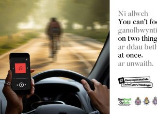 Police crackdown on mobile phone use behind the wheel
