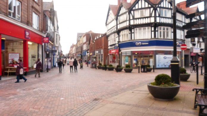 Shopping in Wrexham