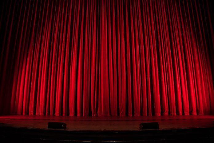 Theatre Curtain Concert Performance
