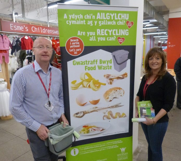 Recycling Ty Pawb Wrexham