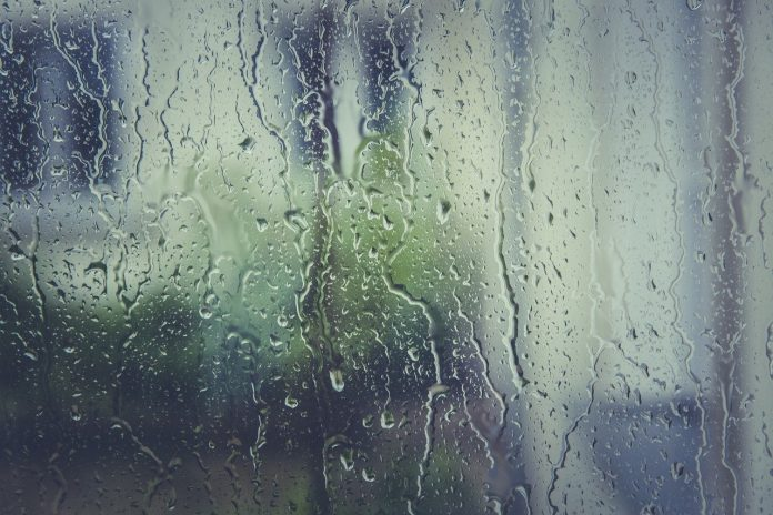 Rain in Wrexham
