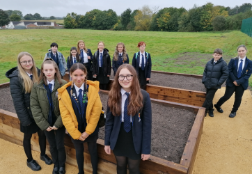 Ysgol Clywedog's Eco-Action Taskforce Group