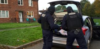 Wrexham drugs gang arrests