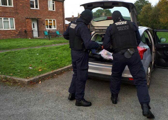 Wrexham drugs gang arrests
