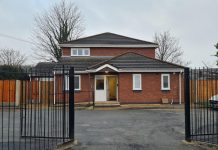 Heddwch in Wrexham - outside front
