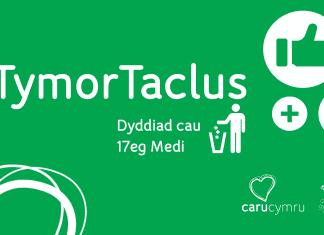 Tymor Taclus - dyddiad cau 17 Medi